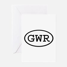 GWR Oval Greeting Cards (Pk of 20)