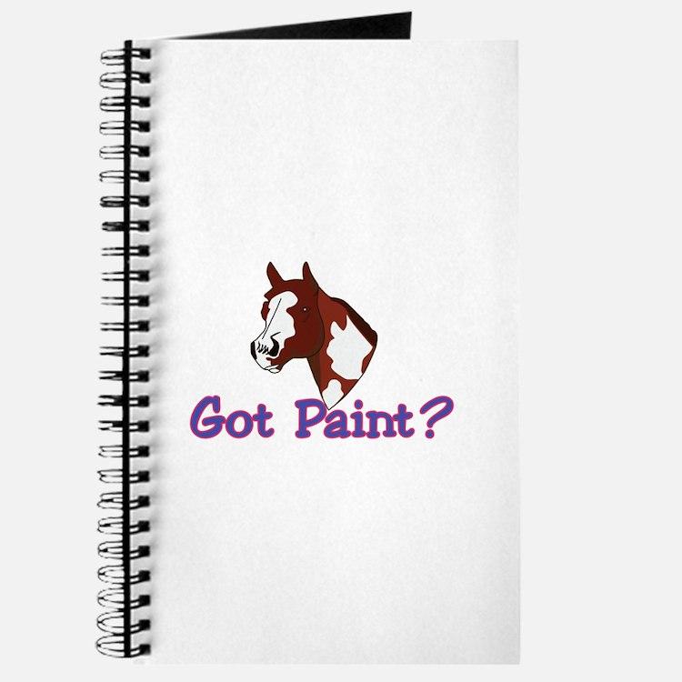 Got Paint? Journal