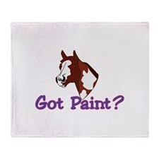 Got Paint? Throw Blanket