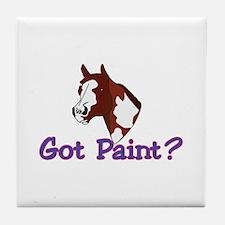 Got Paint? Tile Coaster