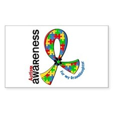 For My Granddaughter Autism Decal