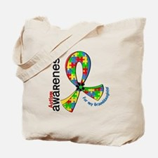 For My Granddaughter Autism Tote Bag