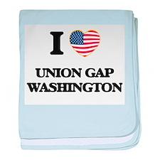 I love Union Gap Washington baby blanket