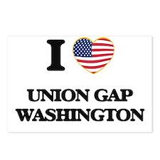 I love Union Gap Washingt Postcards (Package of 8)