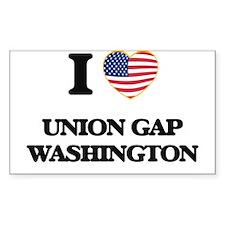 I love Union Gap Washington Decal
