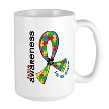 For My Godson Autism Mug