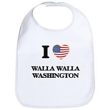 I love Walla Walla Washington Bib