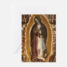 Virgin of Guadalupe Greeting Cards