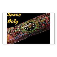 Space Didg's Didgeridoo Decal