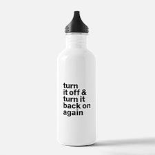 Turn It Off & Back On Water Bottle