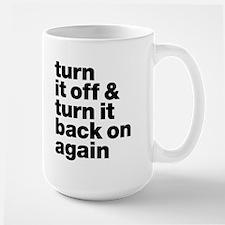 Turn It Off & Back On Again - Mug