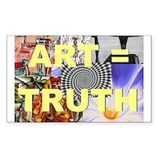 Art = Truth Decal