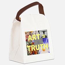 Art = Truth Canvas Lunch Bag