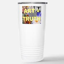 Art = Truth Travel Mug