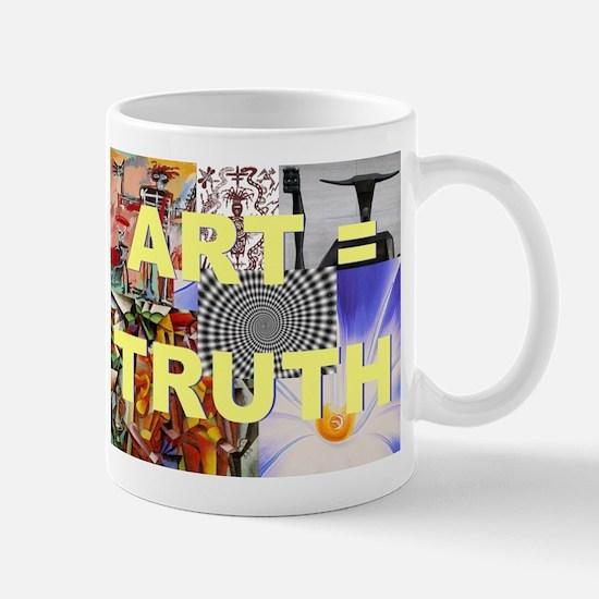 Art = Truth Mugs