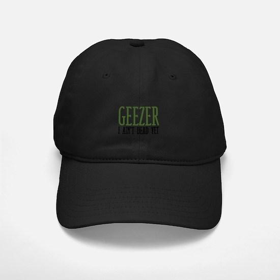 Geezer Baseball Hat