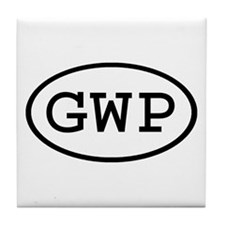 GWP Oval Tile Coaster