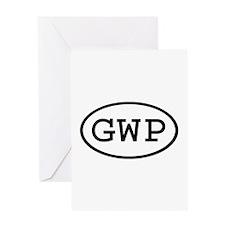 GWP Oval Greeting Card