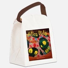 Space Didg. Alien Didg Canvas Lunch Bag