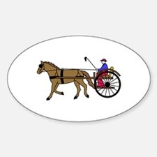Horse and Buggy Decal