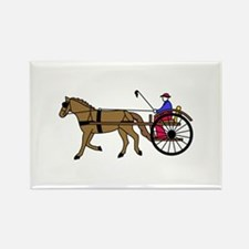 Horse and Buggy Magnets