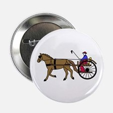 """Horse and Buggy 2.25"""" Button (10 pack)"""