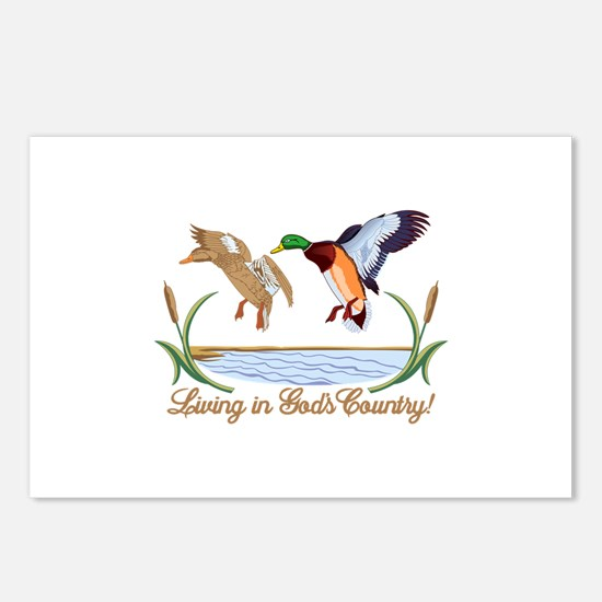 Gods Country Postcards (Package of 8)