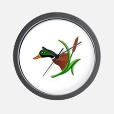 Mallard Head Wall Clock