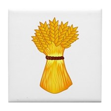Wheat shock Tile Coaster