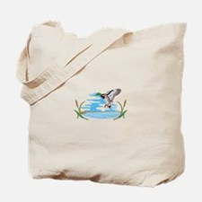 Mallard Scene Tote Bag