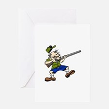 Shooter Greeting Cards
