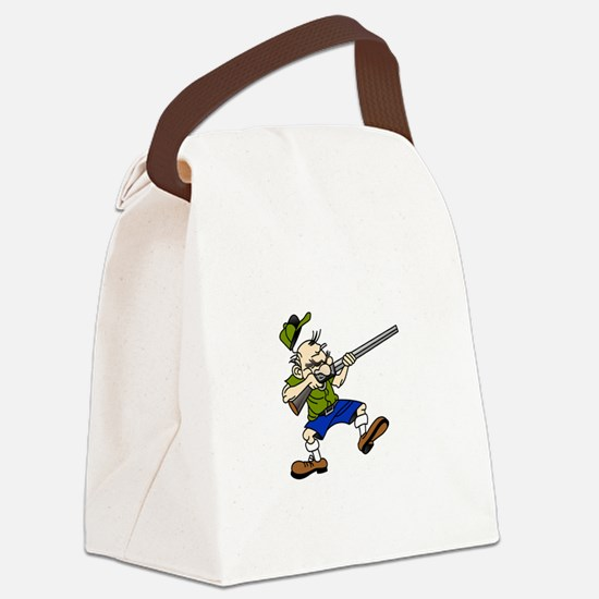Shooter Canvas Lunch Bag