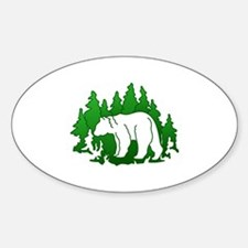 Bear Silhouette Decal