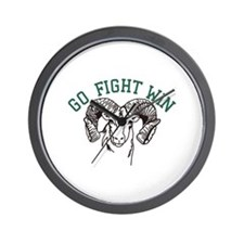 Go Fight Win Wall Clock