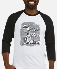 Love & Hate Baseball Jersey