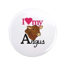 """I Love My Angus 3.5"""" Button (100 pack)"""