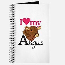 I Love My Angus Journal