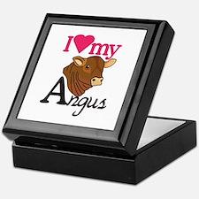 I Love My Angus Keepsake Box
