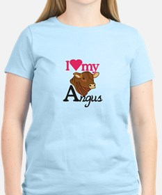 I Love My Angus T-Shirt