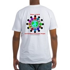 Peace On Earth (backprint) Shirt