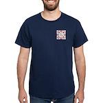 Fire Department Maltese Cross Dark T-Shirt