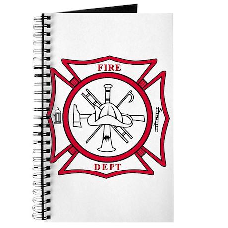 Fire Department Maltese Cross Journal