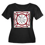 Fire Department Maltese Cross Women's Plus Size Sc