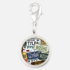 Vintage License Plates Charms