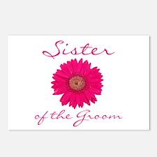 Groom's Sister Postcards (Package of 8)