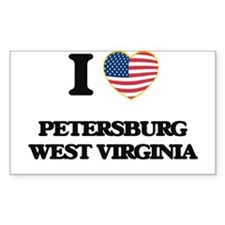 I love Petersburg West Virginia Decal