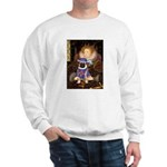 Queen-Sir Pug (17) Sweatshirt