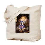 Queen-Sir Pug (17) Tote Bag