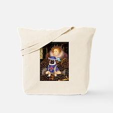 Queen-Sir Pug (17) Tote Bag