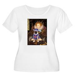 Queen-Sir Pug T-Shirt